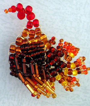 Beaded Turkey